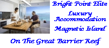 Bright Point Elite - Luxury waterfront apartment accommodation on Magnetic Island at One Bright Point